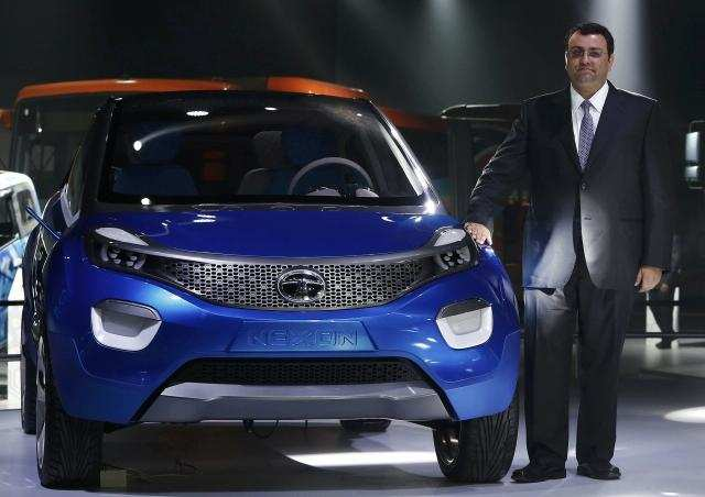 auto expo 2014 tata motors unveils suv nexon connectnext. Black Bedroom Furniture Sets. Home Design Ideas