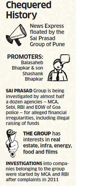 Promoter of News Express channel that carried sting on opinion pollsters under government probe for irregularities