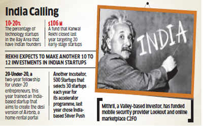 Silicon Valley investors welcome Indian talent for next big idea