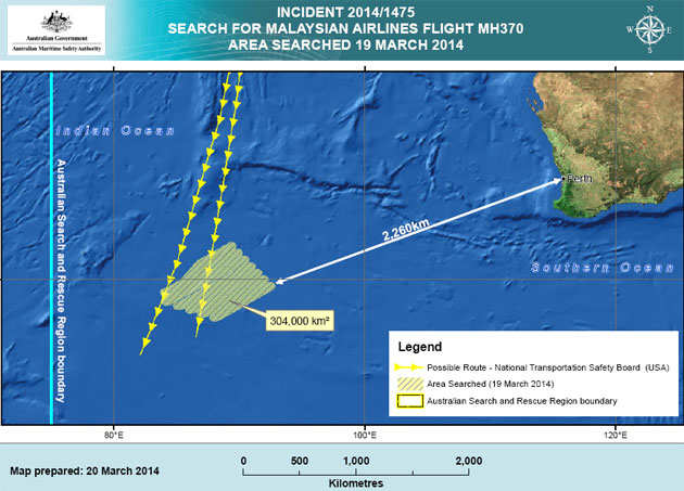 Satellites spot objects possibly from missing Malaysian plane MH370, says Australian PM Tony Abbott