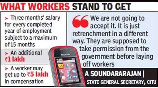 Nokia offers VRS to Chennai unit staff