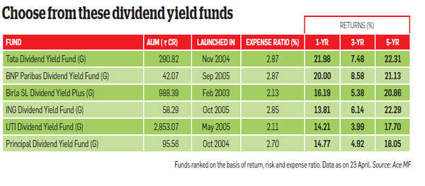 Should you invest in dividend yield funds?