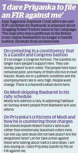 Raebareli: How Priyanka Gandhi brings in family connect as she campaigns for Sonia Gandhi