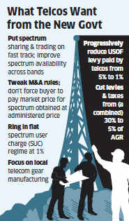 Telecom operators prepare wishlist for next government