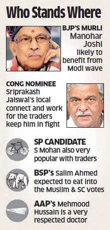 Lok Sabha polls 2014: BJP leader Murli Manohar Joshi has a tough fight in Kanpur