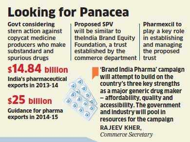 Government plans special purpose vehicle for 'Brand India Pharma' promotion