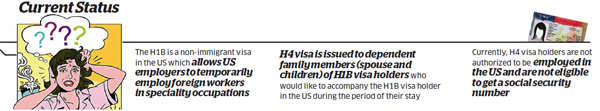 Will work permits help solve 'identity crisis' faced by H1B visa holders' spouses?