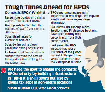 BPOs like Aegis, Firstsource to present wishlist to new government on domestic market