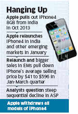 Four months of relaunch, Apple decides to withdraw iPhone 4