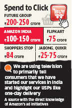 Amazon earmarks Rs 100-150 crore for advertising on TV, print and online in FY15