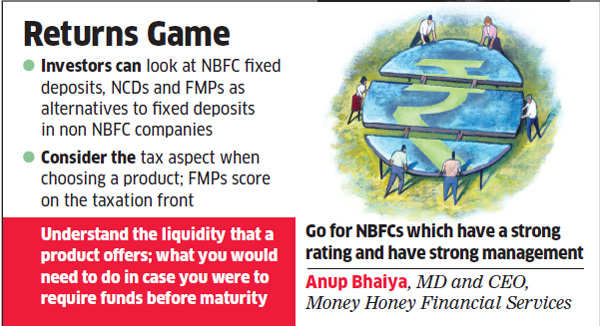 NCDs and FMPs are good alternatives to fixed deposits, say experts