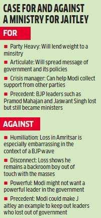 Jaitley falls prey to Congress' Hindu vs Sikh card