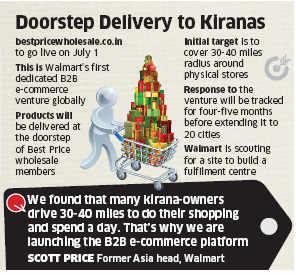 Walmart knocks on the kirana door with new B2B website