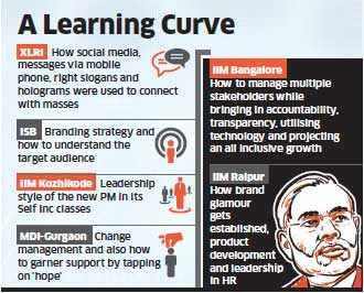 Top B-schools like IIMs, ISB & XLRI to offer lessons from Narendra Modi's electoral success