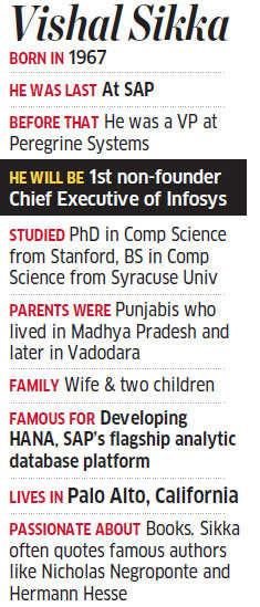 My wife calls me a fake Punjabi: Vishal Sikka, Infosys CEO