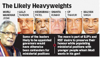 Narendra Modi administration to appoint 6 governors to accommodate party veterans