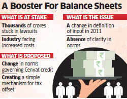 Budget 2014: Government may tweak rules to ensure smoother tax credits on inputs