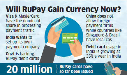 Government asks PSU banks to issue RuPay debit cards to customers, install POS terminals