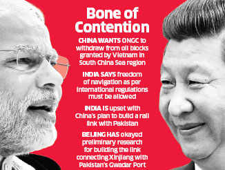 Differences came out during Narendra Modi-Xi Jinping meet ahead of BRICS Summit