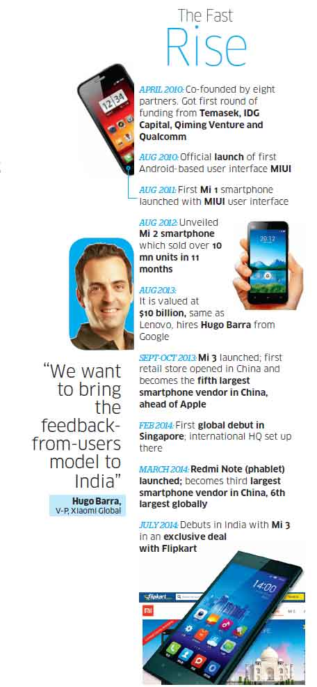 Xiaomi, China's 'Apple-like' smartphone maker, to take on Samsung & Micromax in India
