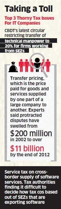 Infosys backs CBDT's decision on manpower deployment, Wipro & TCS oppose directive