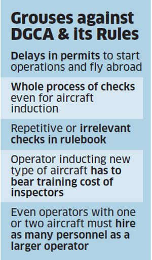 Blizzard of rules by the aviation regulator DGCA threaten to 'kill' air charter companies
