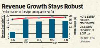 India Inc posts best profit surge in 9 quarters due to firm top line growth, & stable costs