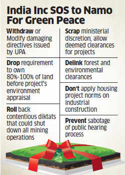 In bid to revive investments, India Inc urges PMO to ease environmental curbs imposed by UPA