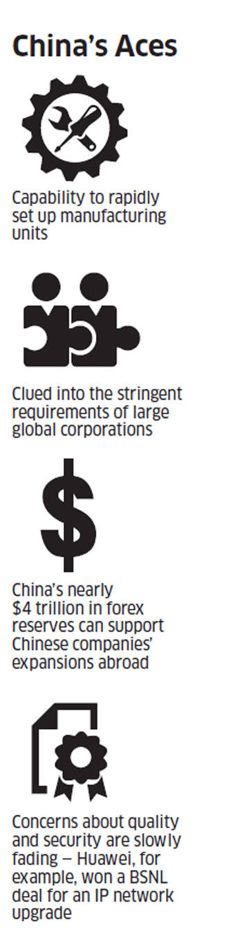 Chinese companies queue up to invest in India, but face several daunting odds