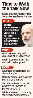 Narendra Modi government to focus on executing key projects to build credibility