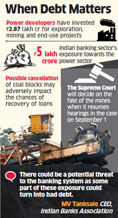 Banks jittery over SC verdict on coal blocks, may see surge in bad loans