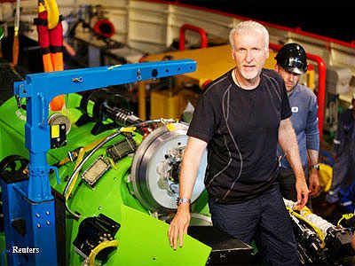 Why 'Avatar' director James Cameron prefers deep-sea exploration to Hollywood glitz