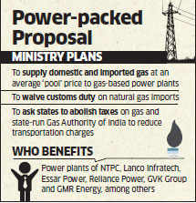 Gas-based power companies agree to revenue cut to enable price pooling