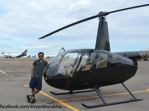 Divyank Turakhia: The serial entrepreneur who loves to fly planes in his free time