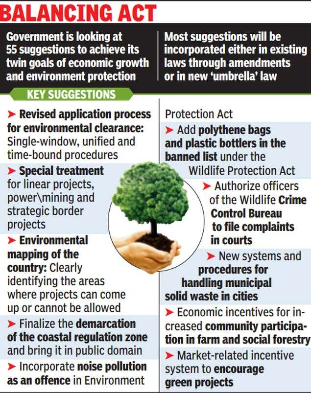 Govt moots ideas to sync green norms with growth