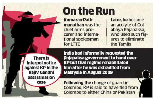 Rajiv Gandhi assassination accused and ex-LTTE leader KP escapes from Sri Lanka