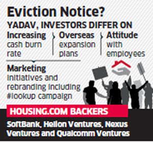 Investors considering to remove Housing.com co-founder Rahul Yadav as CEO: Sources