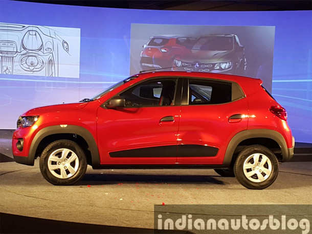 Renault Kwid compact hatchback unveiled; to take on Alto & Eon in Rs 3-4 lakh price range