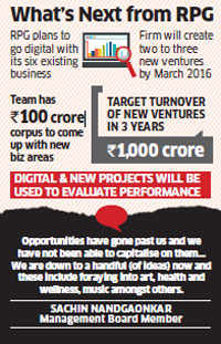 RPG scouts for fresh business ideas with digital focus to generate revenue of Rs 1,000 crore in next 3 years