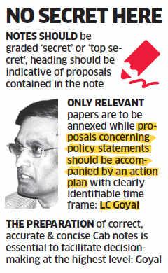 Home Secretary LC Goyal pulls up MHA bureaucrats for 'shoddy' notes