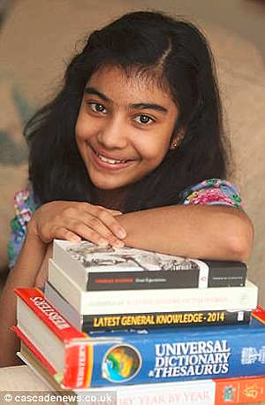 Lydia Sebastian, 12-year-old Indian-origin girl with IQ higher than Albert Einstein