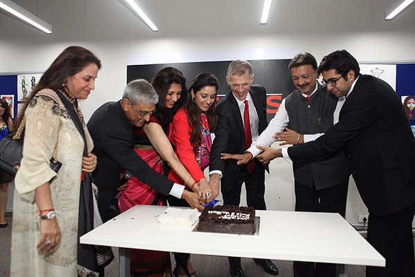 The New School- Parsons School of Design's president David Van Zandt visits Mumbai