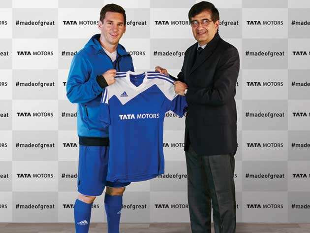 Lionel Messi Tata Motors global brand ambassador