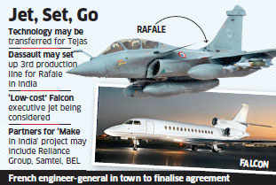 In boost for 'Make in India', Dassault may manufacture Rafale fighter aircraft in India