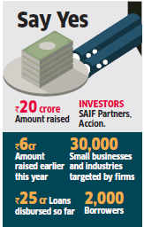 NBFC Aye Finance raises Rs 20 crore in new round of funding