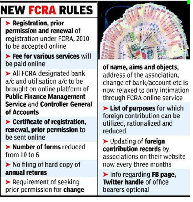 Image result for Government to amend FCRA act