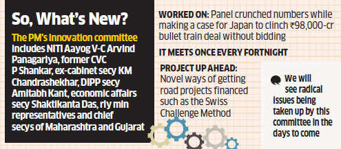 Indo-Japan bullet train deal: First victory for PM Modi's Innovation Panel