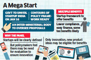 Government to unveil Start-Up India on January 16; inter-ministerial panel to oversee proposals