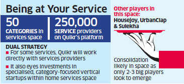 Quikr plans to invest Rs 250 crore in home services market to beat rivals