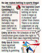 Lodha wants cricket betting legalised, but who will bell the cat?